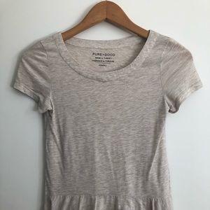 Anthropologie peplum Shirt